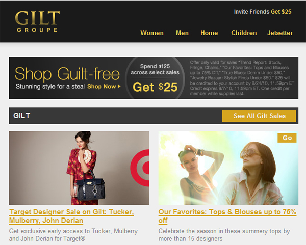 Gilt Target