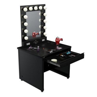 Hollywood Makeup Vanity Lights : Broadway Lighted Vanity Makeup Desk from Vanity Girl Hollywood